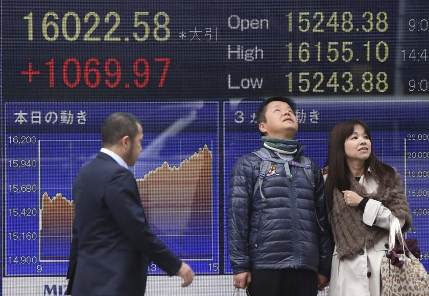APphoto_Japan Financial Markets
