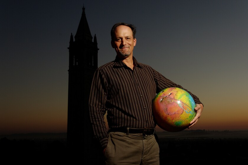 UC Berkeley astronomer Geoff Marcy