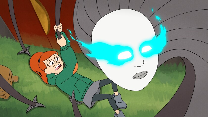 A scene from 'Infinity Train'