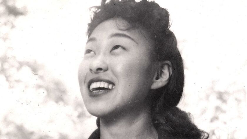 Playwright Wakako Yamauchi in 1944.