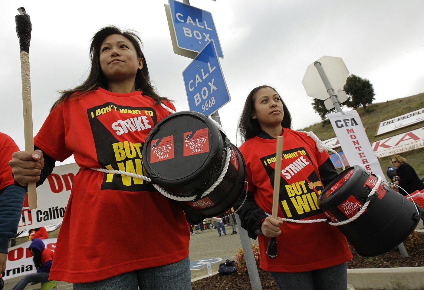 Strike averted, raises proposed
