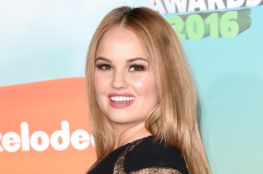 Actress Debby Ryan, 22, at Nickelodeon's 2016 Kids' Choice Awards in Inglewood.