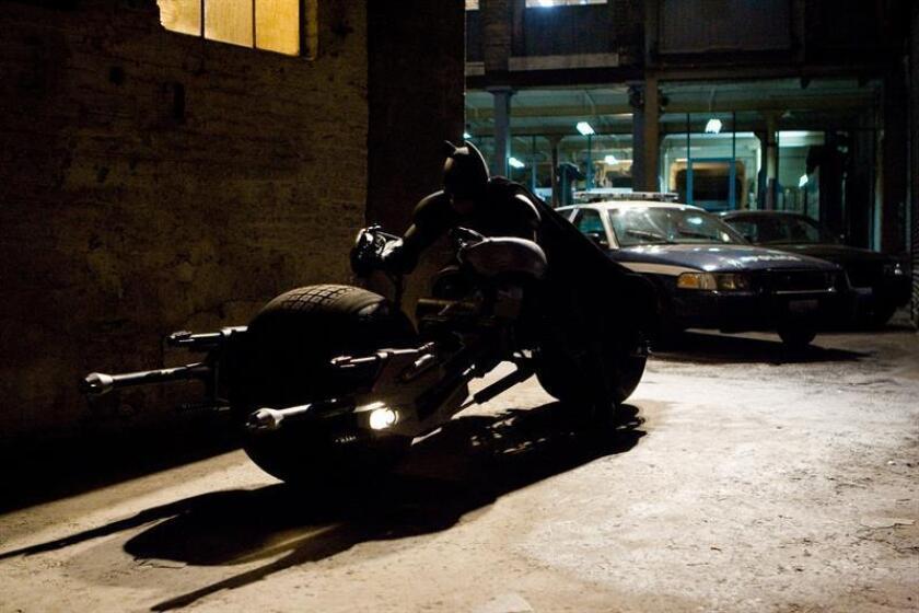 """Fotograma cortesía de Warner, de la última película de Batman, """"The Dark Knight¨, del director británico Christopher Nolan. EFE/Stephen Vaughan/WARNER/CORTESÍA/ SOLO USO EDITORIAL / NO VENTAS"""
