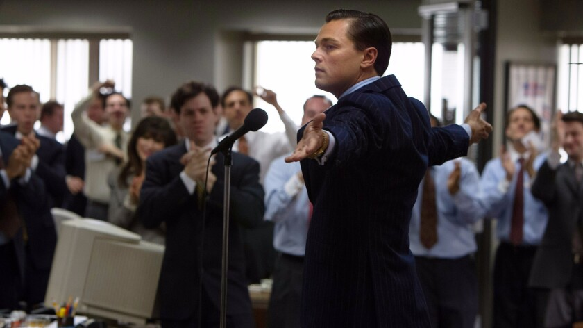 'The Wolf of Wall Street'