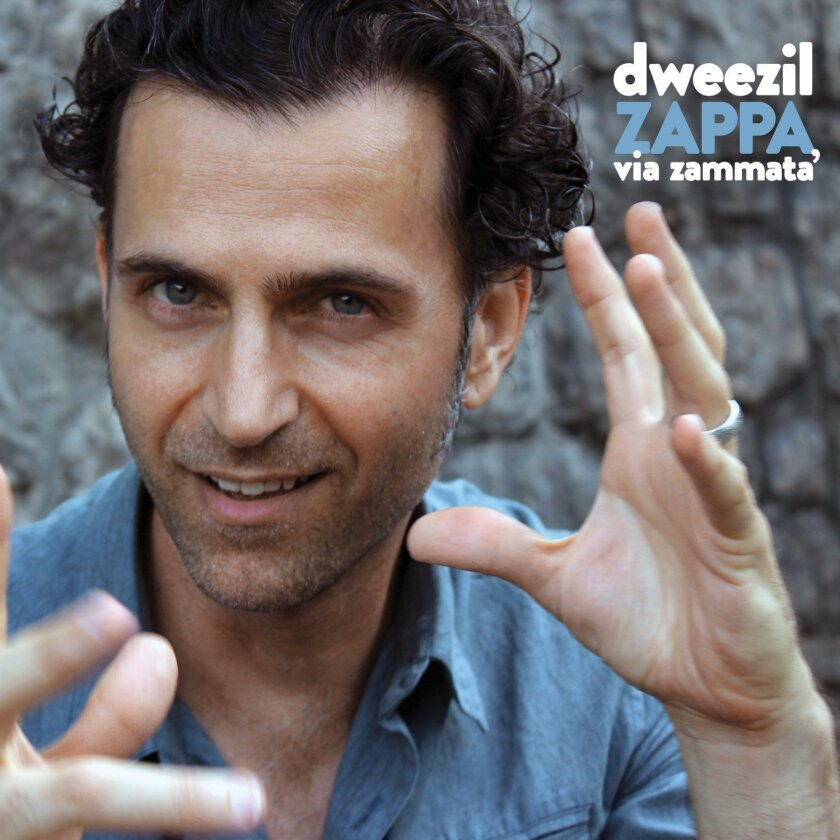 "This cover image released by Fantom Records shows ""Via Zammata,"" by Dweezil Zappa. (Fantom Records via AP)"