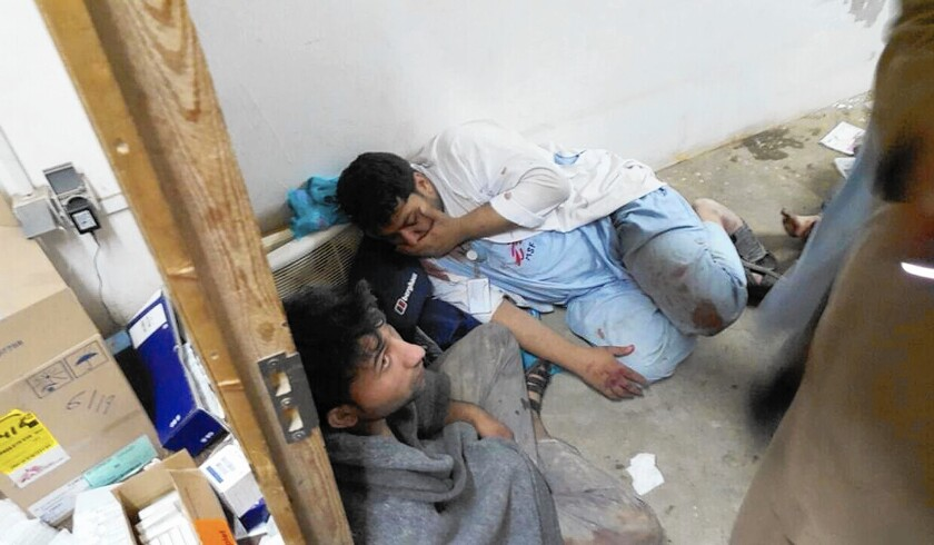 Staff members of Doctors Without Borders were among the casualties of the U.S. airstrike on the charity's hospital in Kunduz, Afghanistan.