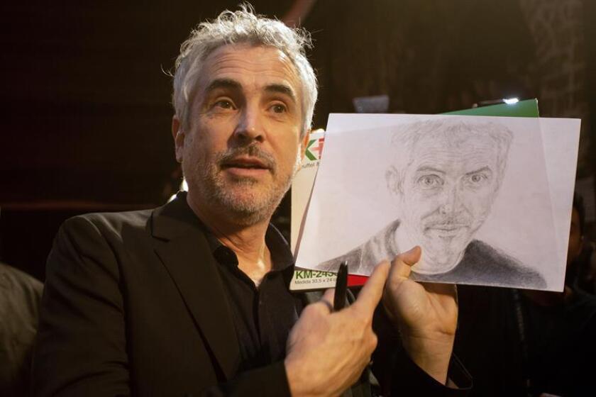 Fotografía de archivo del cineasta mexicano Alfonso Cuarón. EFE/Archivo