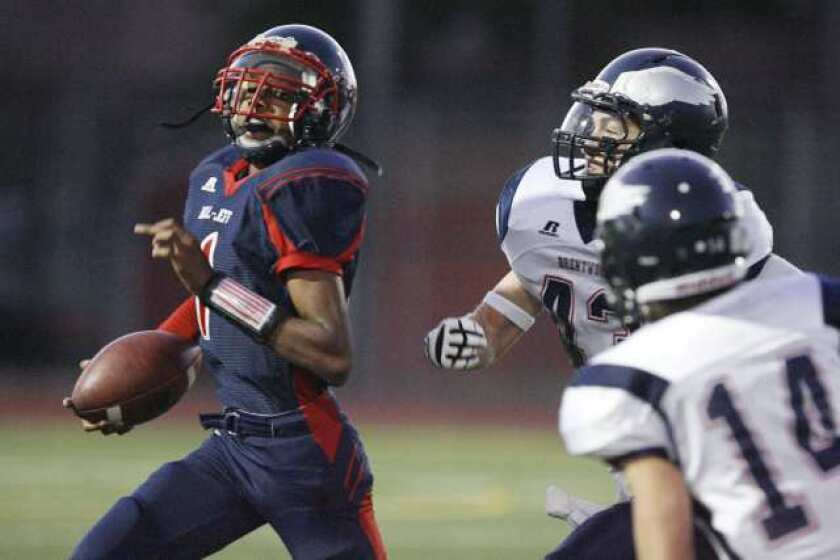 Bellarmine-Jefferson football team has tough time with Brentwood