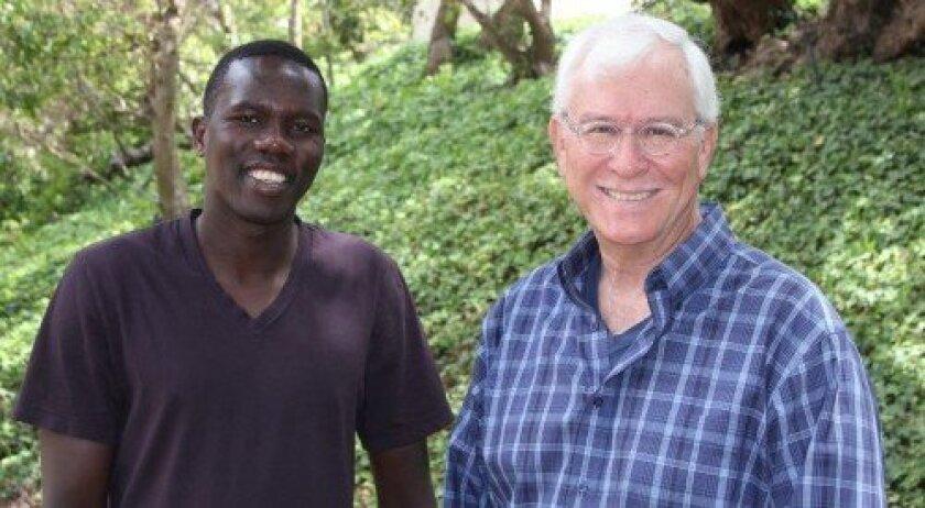 Lale Labuko and John Rowe (Photo/Joe Tash)