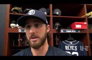 Padres pitcher Bryan Mitchell working to earn back a spot in the rotation