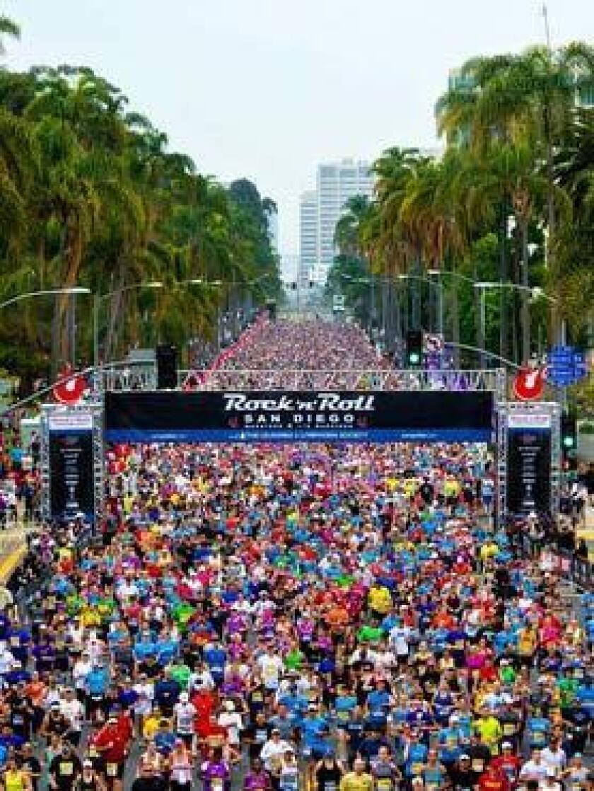 Rock and Roll Marathon San Diego. (Courtesy photo)