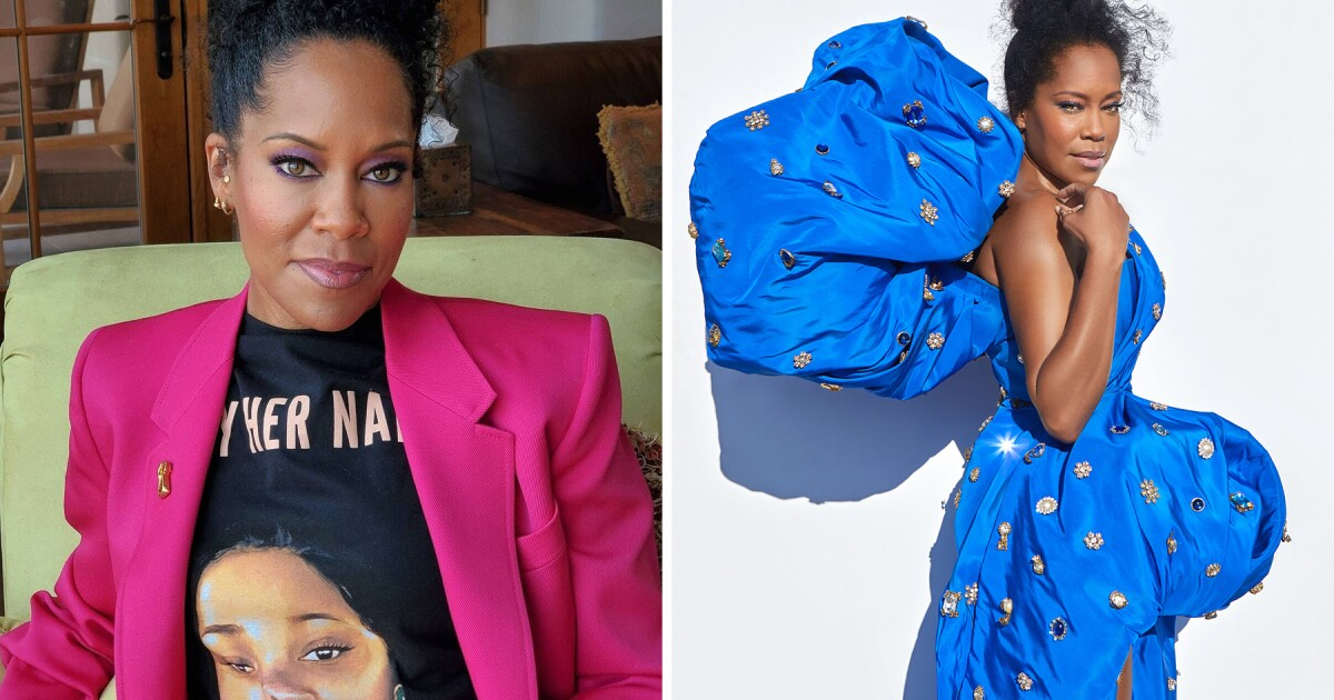 Like Regina King's Emmy night outfits? Bid on them for a good cause