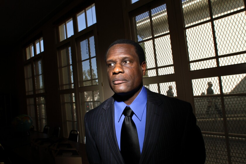 Jabari Jumaane, photographed when he ran for a seat on the Los Angeles City Council in 2011.