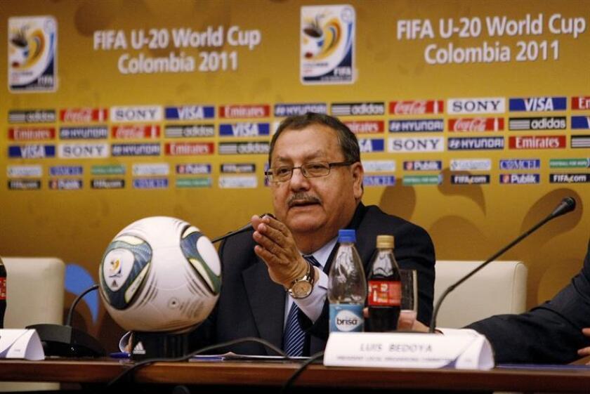 En la imagen, el exdirigente guatemalteco de la FIFA Rafael Salguero. EFE/Archivo