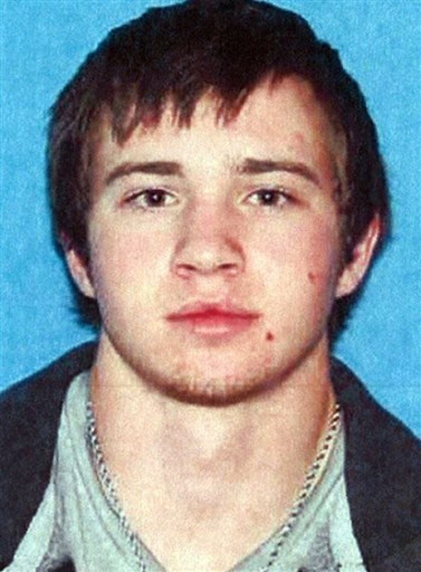 "This undated Oklahoma driver's license photo provided by the Harney County, Ore. Sheriff's Office shows Dustin Self, 19, who is believed missing on Steens Mountain in the remote and rugged country of southeastern Oregon. The Harney County sheriff's office has been searching for him since his pickup truck was found abandoned on a mountain track. He told his parents before leaving their home a month ago that he wanted to live off the land like in the movie, ""Into The Wild.'' (AP Photo/Harney Count"