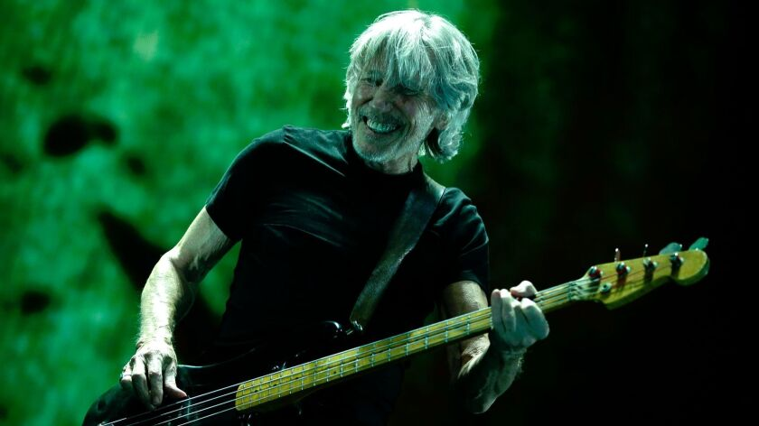 Roger Waters performs the first of three nights at Staples Center on Tuesday.
