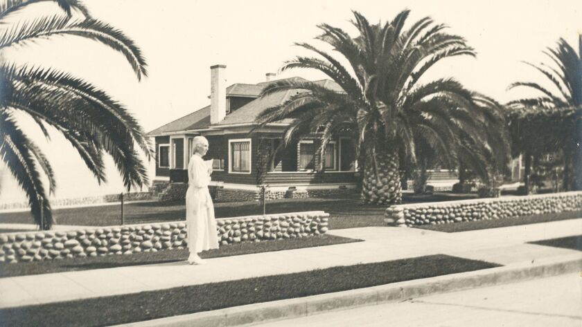 Wisteria Cottage, circa 1920, on Prospect Street was restored by La Jolla Historical Society and is now used as a museum.
