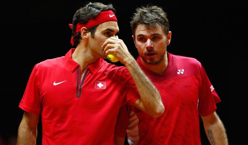 Roger Federer, Stan Wawrinka