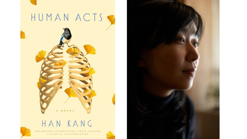 Han Kang and her book 'Human Acts'