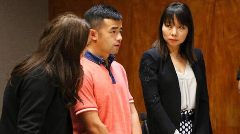 Yu Wei Gong (c), de 28 años, reconoció haber asesinado a su mamá.