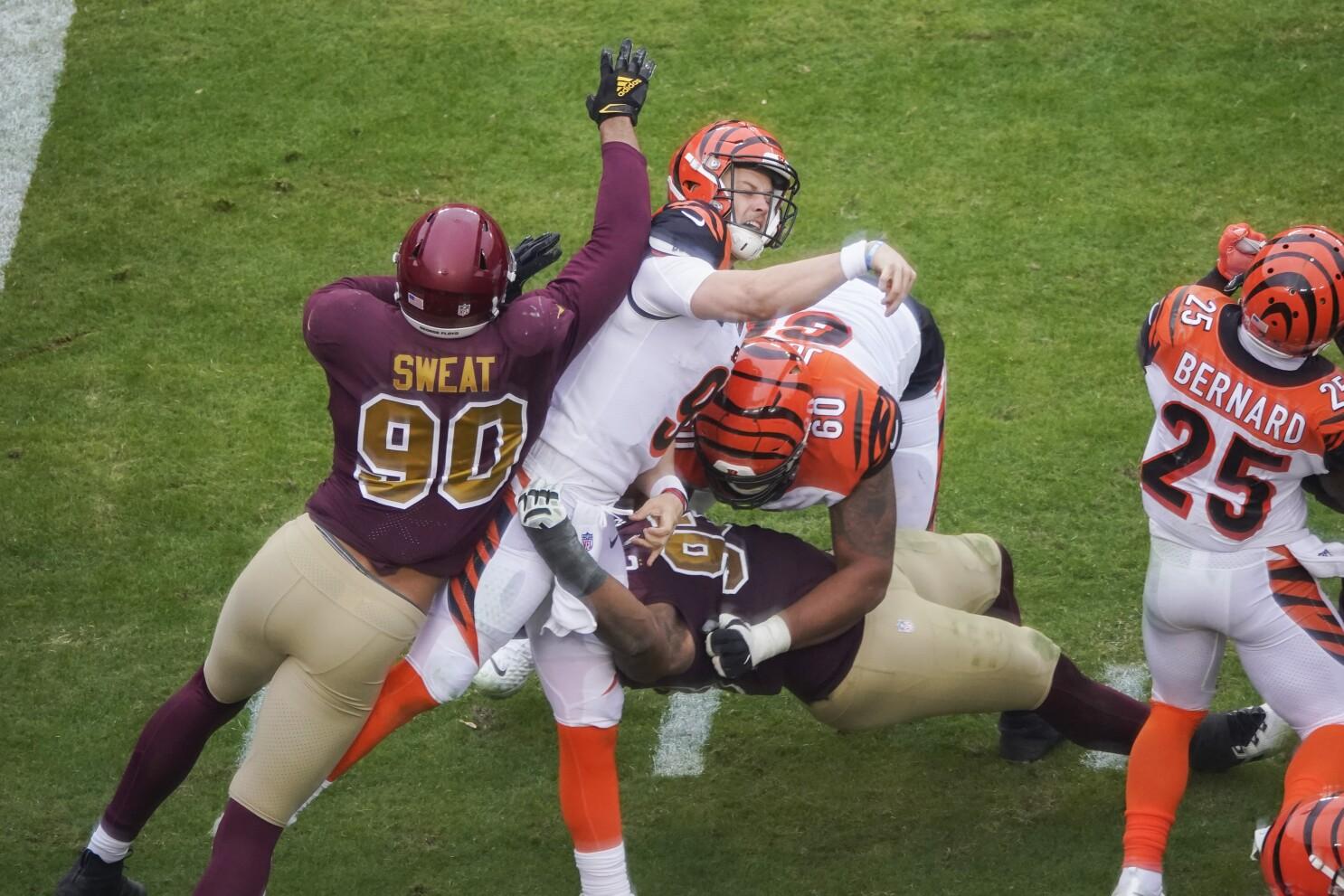Injury to rookie Burrow 'kind of tore everybody apart' - The San Diego  Union-Tribune