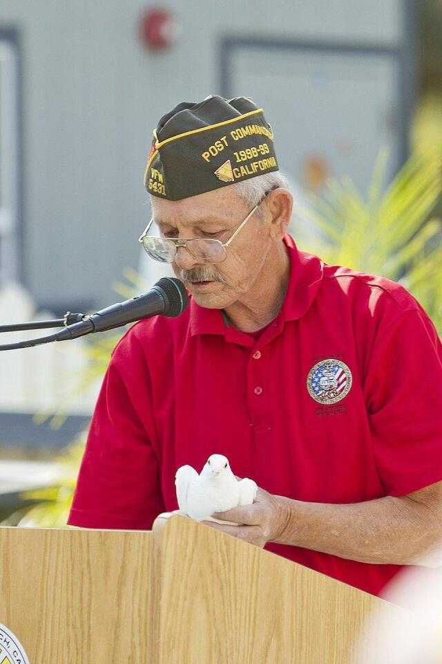 Solana Beach VFW Post Commander Randy Treadway