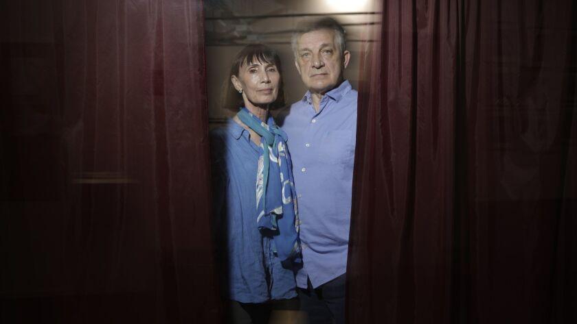 LOS ANGELES, CA -- JUNE 10, 2019: Marat Daukayev and wife Pamela own the Marat Daukayev School of Ba