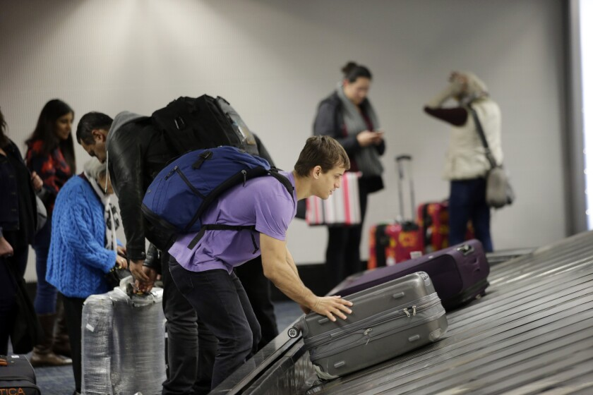 Travelers must be compensated for damaged luggage