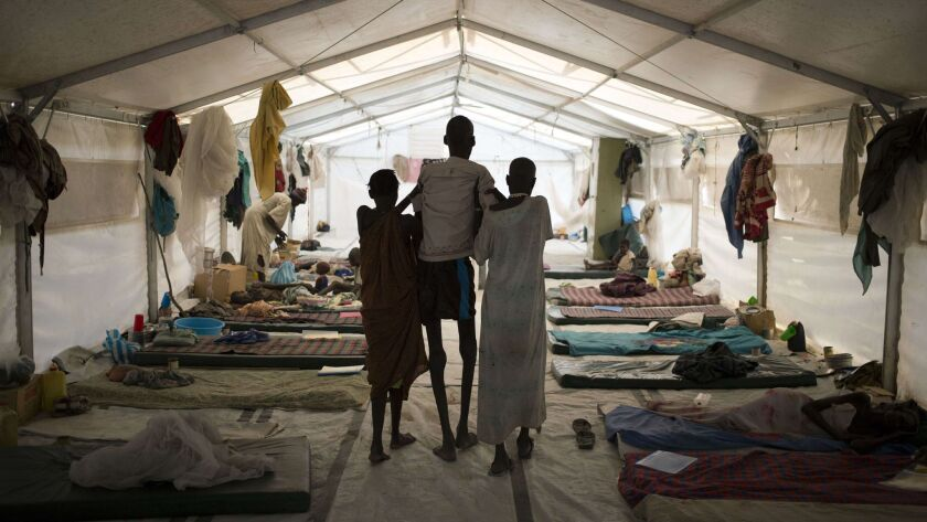 TOPSHOTS-SSUDAN-UNREST-HEALTH-MSF