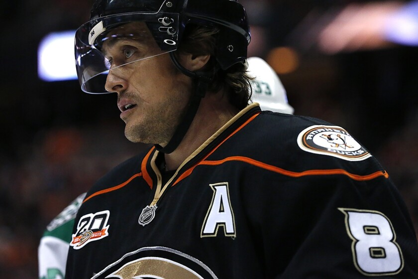 Teemu Selanne had nine goals and 27 points in 64 regular-season games last season in what he believed was an unfairly diminished role.