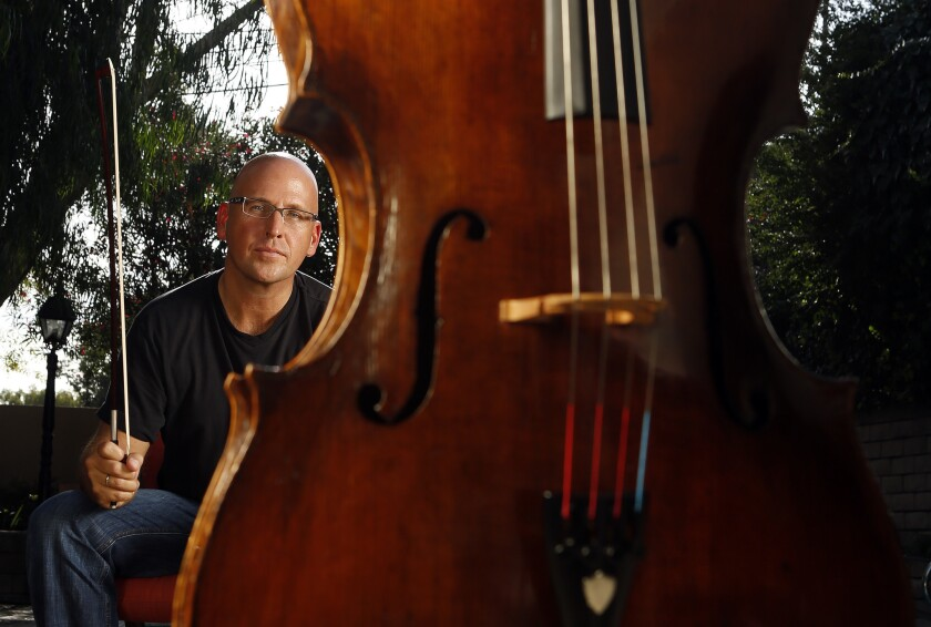 Robert deMaine's sobering journey to be L A  Phil's