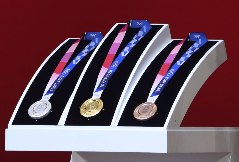 1 thing won't change in Tokyo Olympics: A big U.S. medal haul - Los Angeles  Times