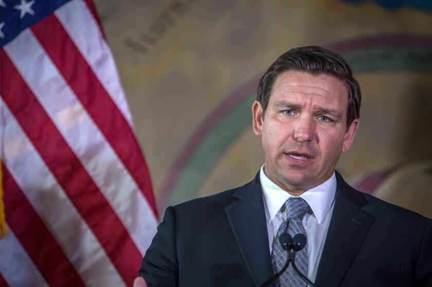 El gobernador de Florida, el republicano Ron DeSantis. EFE/Archivo