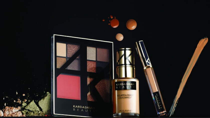 Pieces from the Kardashian Beauty Fierce collection at the center of the legal dispute between the Kardashian sisters and licensee Haven Beauty.