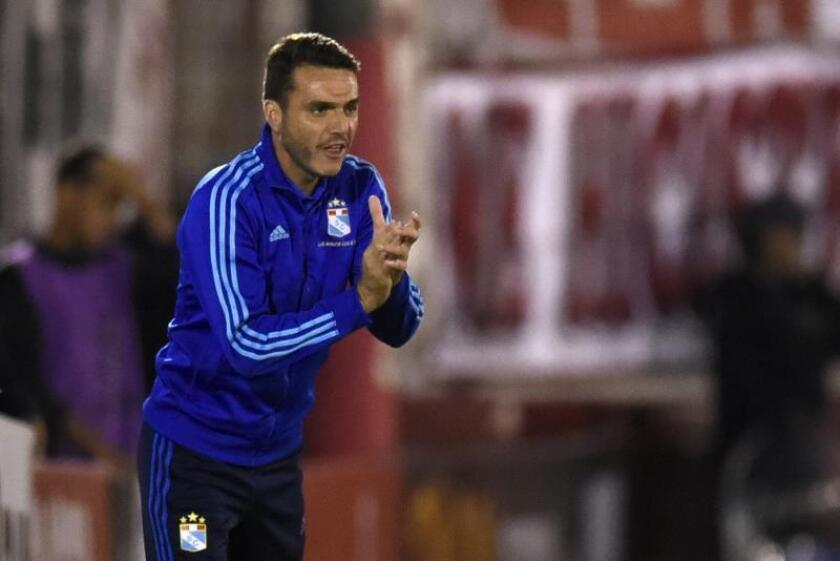 El entrenador Mariano Soso. EFE/Archivo