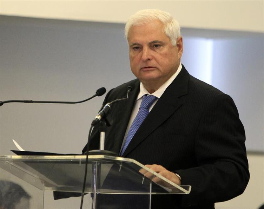 La audiencia que ventilará el recurso de amparo presentado por el expresidente panameño Ricardo Martinelli en EE.UU. tras ser avalada su extradición a Panamá por delitos relacionados con escuchas ilegales será el próximo 23 de enero. EFE/ARCHIVO