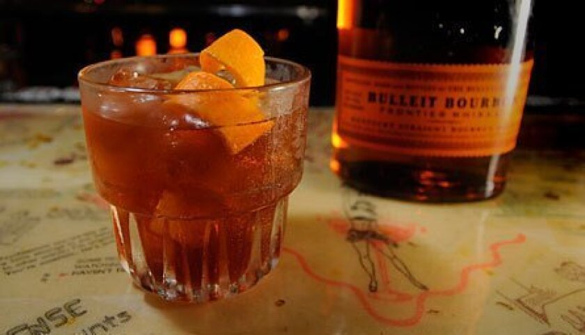 The Maple Old Fashioned at El Dorado.