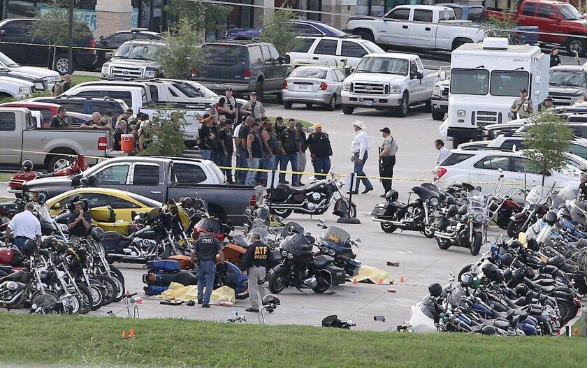 The biker shooting in Waco, Texas, was on May 17.