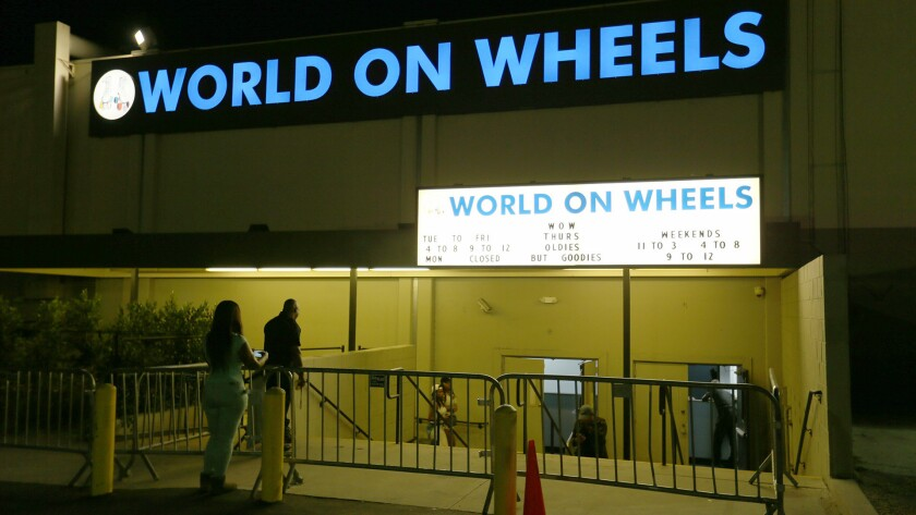 In the '80s and '90s in L.A., if you were a teenager, World on Wheels was the hottest club in town.