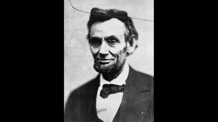 This Feb. 5, 1865, photo shows President Abraham Lincoln in Washington, D.C. According to the Library of Congress, this is the last photo taken of Lincoln in the last photo session of his life. More Abraham Lincoln: Walk in Lincoln's footsteps 150 years later at preserved sites   Lincoln's slaying 150 years ago recalled at Ford's Theatre   Illinois will relive Lincoln's assassination and funeral   Visiting Gettysburg, Ford's Theatre and other sites   Re-creation of Lincoln rail trip to Springfield, Ill., is scrapped