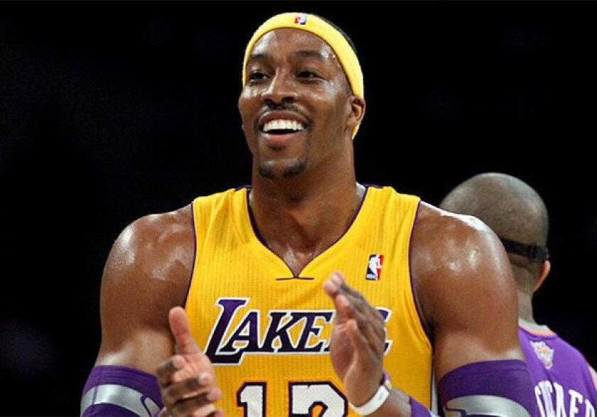 Dwight Howard is averaging 17.3 points and 12.4 rebounds this season.