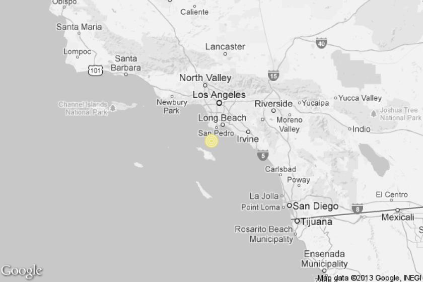 3.3 quake near Rancho Palos Verdes