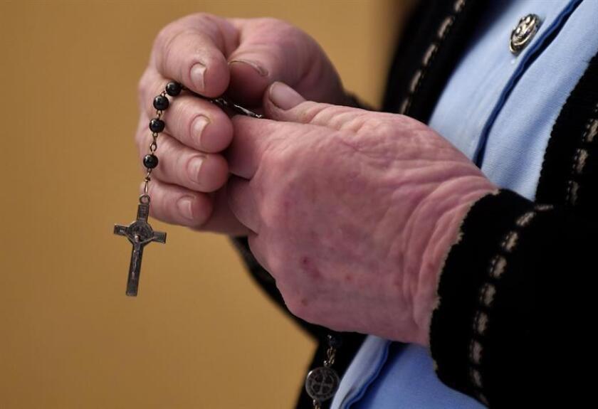 Un sacerdote católico desapareció el pasado sábado, tras oficiar una ceremonia religiosa en el occidental estado mexicano de Michoacán, informaron hoy autoridades religiosas. EFE/ARCHIVO