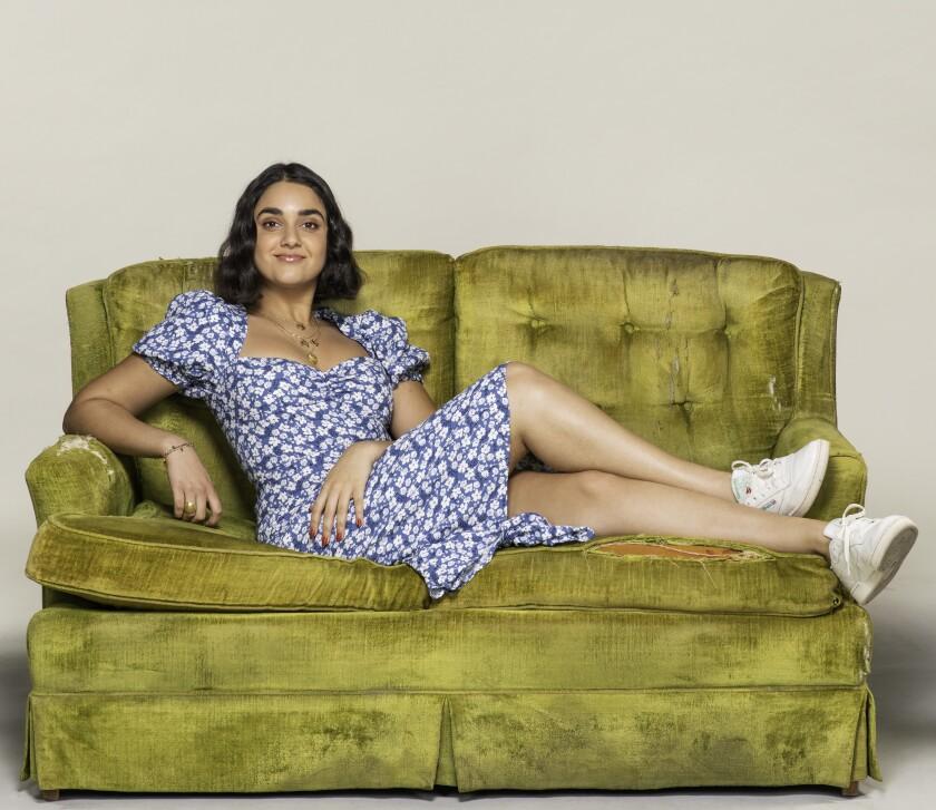 "Geraldine Viswanathan stars in the Sony rom-com ""The Broken Hearts Gallery."""