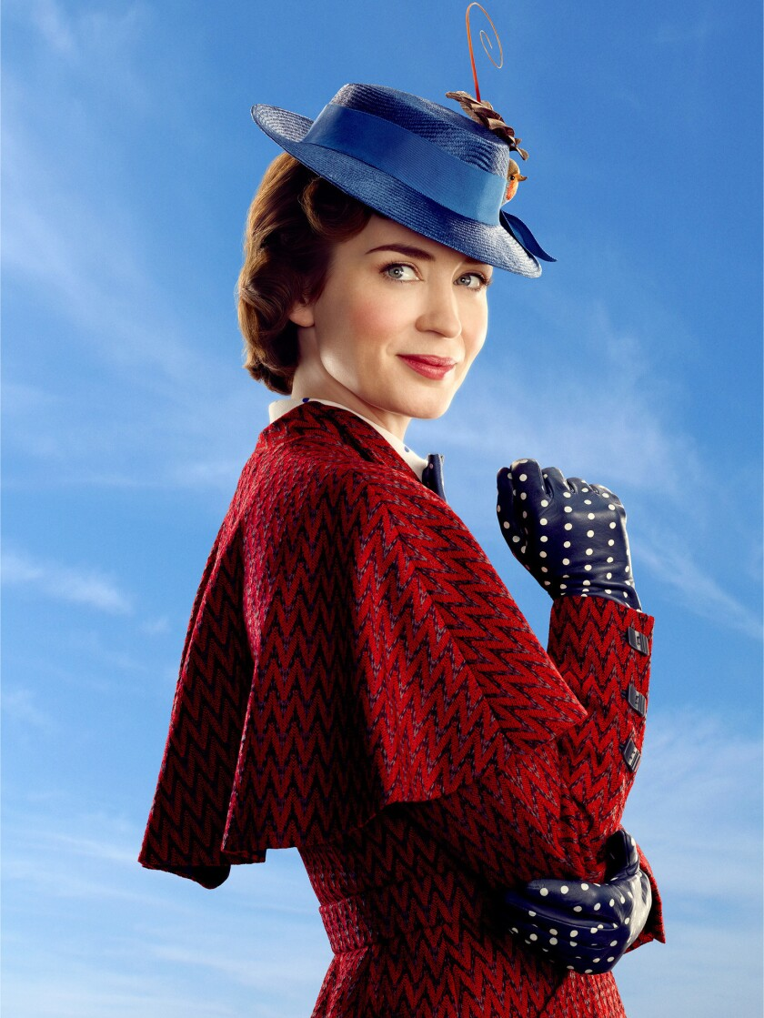 ********2018 HOLIDAY SNEAKS***DO NOT USE PRIOR TO SUNDAY NOV. 4, 2018******Mary Poppins (Emily Blunt