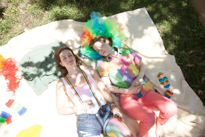 "Leighton Meester, left, and Gillian Jacobs in ""Life Partners."""