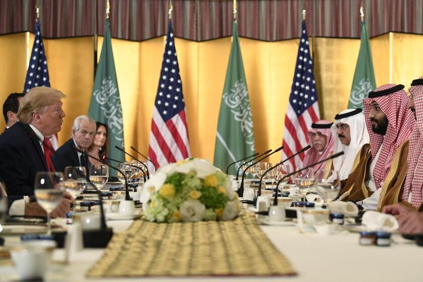 Trump U.S. Saudi Arabia