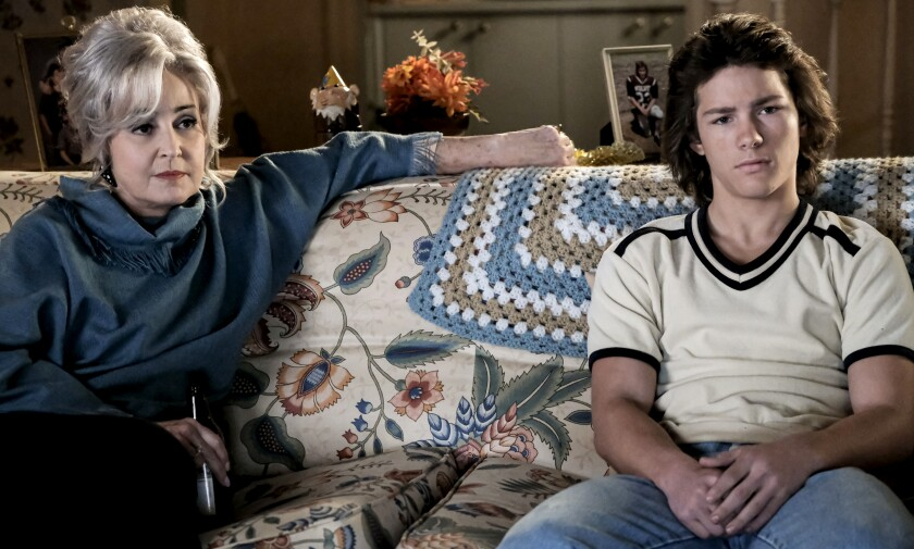 "Annie Potts and Montana Jordan in a new episode of the spinoff comedy ""Young Sheldon"" on CBS."