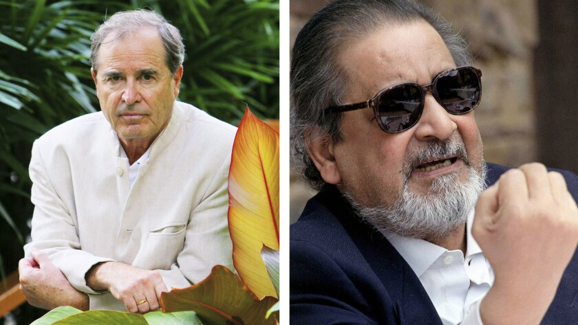 Paul Theroux and V.S. Naipaul