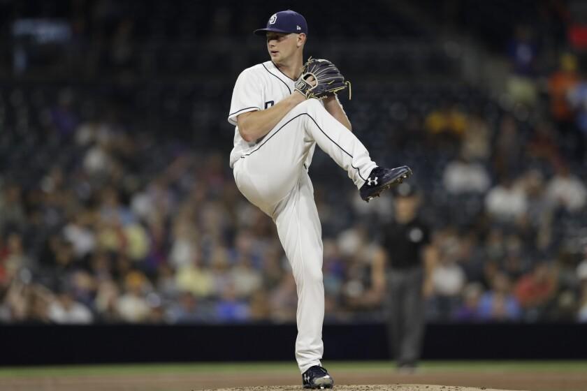 Padres left-hander Eric Lauer has won a career-high three straight starts.